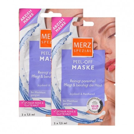 Merz Spezial Peel-Off Maske mit Papaya- & Ananasextrakten Doppelpack
