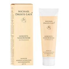 Michael Droste-Laux Basische Gesichts-Waschcreme mit Weizenkleie