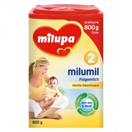 Milumil Folgemilch 2 Vanille, Pulver (800 g)