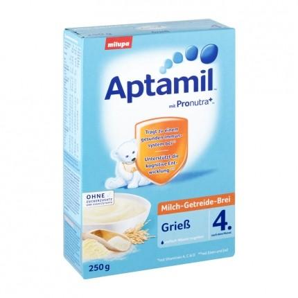 Milupa Aptamil Milchbrei Grieß, Pulver
