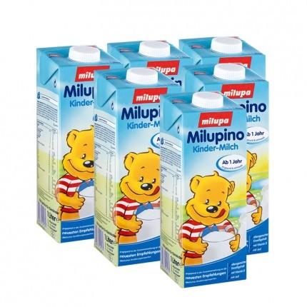 6 x Milupino Kinder-Milch, trinkfertig