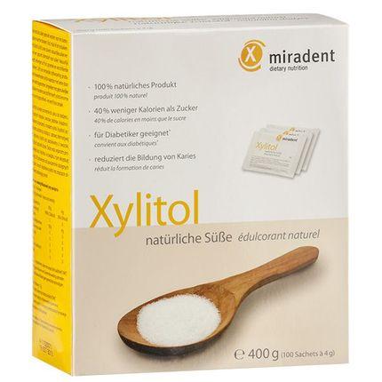 miradent Xylitol Sachets