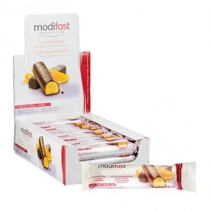 Modifast Protein Plus Riegel Schoko-Orange Box