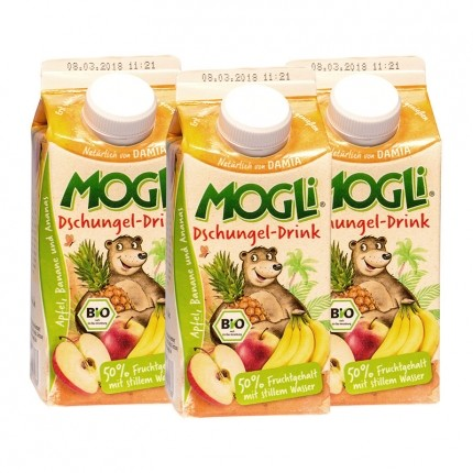 Mogli Bio Dschungel-Drink (3 x 330 ml)
