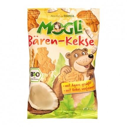 Mogli Bio Mini Bären-Kekse, Kokos