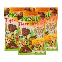 Mogli Mini Tiger-Kekse, Schoko