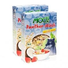 Mogli Panther-Müsli Erdbeer und Kokos Bio-Müsli Doppelpack