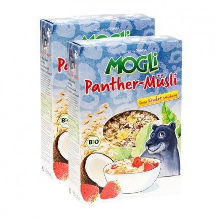 Mogli Bio Panther-Müsli Erdbeer und Kokos