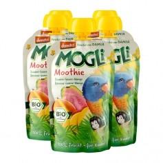 5 x Mogli Moothie Fruchtsnack Banane-Guave-Mango