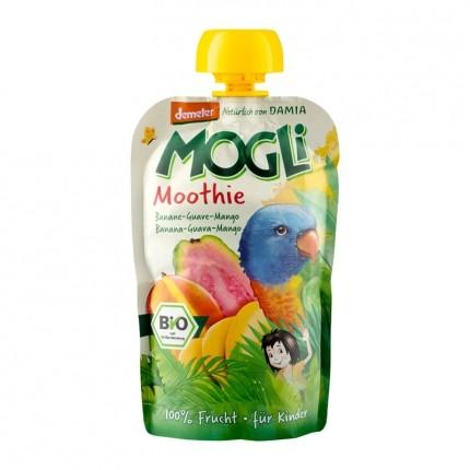 Mogli Moothie Fruchtsnack Banane-Guave-Mango