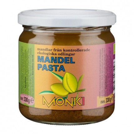 Monki Mandelpasta 330g EKO