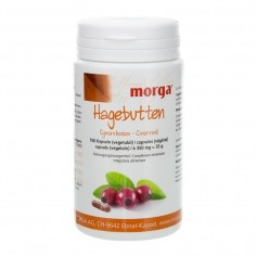 BIOREX Health-Line Hagebutten Vegicaps mit Weidenrinde und Vitamin E, Kapseln
