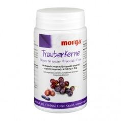 BIOREX Health-Line Traubenkerne Vegicaps mit OPC und Vitamin B12, Kapseln