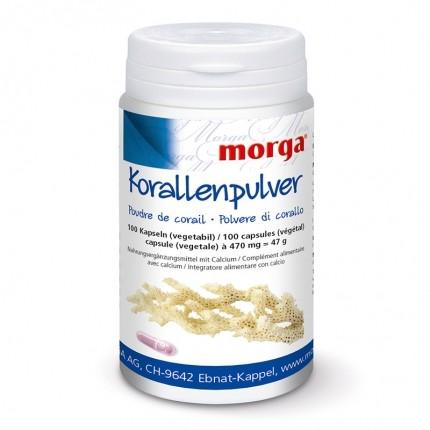 BIOREX Health-Line Korallenpulver Vegicaps mit Calcium, Kapseln