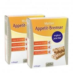 MULTAN Appetit-Bremser Riegel Doppelpack