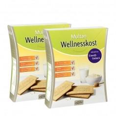 MULTAN Wellnesskost Protein-Gebäck Doppelpack