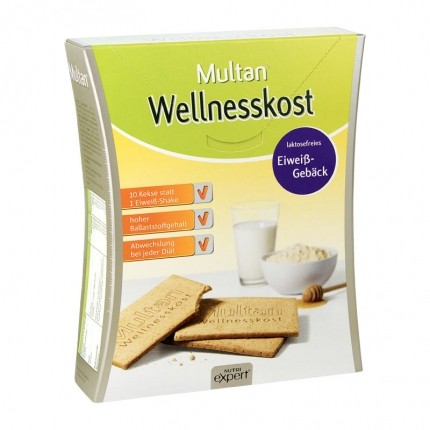 Multan Wellnesskost Eiweiß-Gebäck (60 Stück)