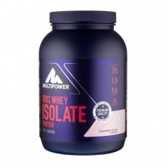 Multipower Pure Whey Isolate Strawberry Cream, pulver