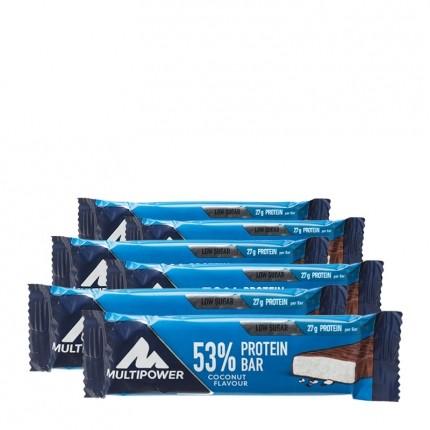 6 x Multipower 50% Protein Bar Kokos