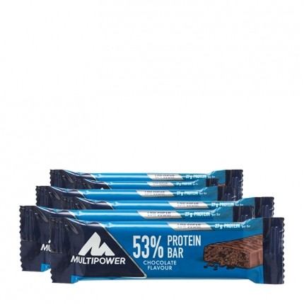 6 x Multipower 50% Protein Bar Chocolate-Cream