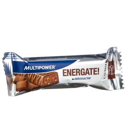 6 x Multipower Energate Schoko-Extra, Riegel
