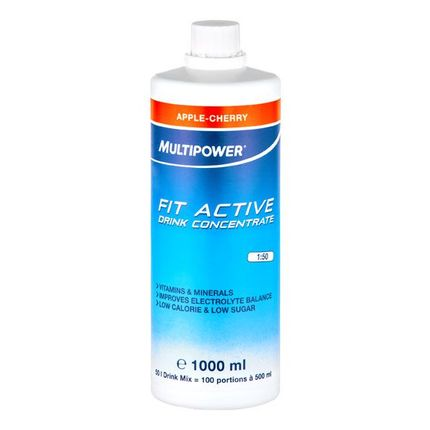 Multipower Fit Active Apfel-Kirsch, Konzentrat