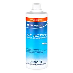 Multipower Fit Active Apple-Cherry, Koncentrat