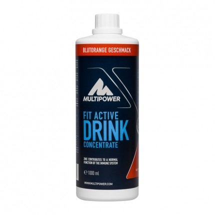 Multipower Fit Active Blood Orange, Koncentrat