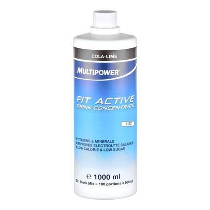 Multipower Fit Active Cola-Limette, Konzentrat