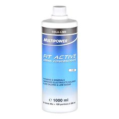 Multipower Fit Active Cola-Limette, Konzentrat