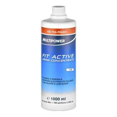 Multipower Fit Active Ice Tea-Peach, Koncentrat