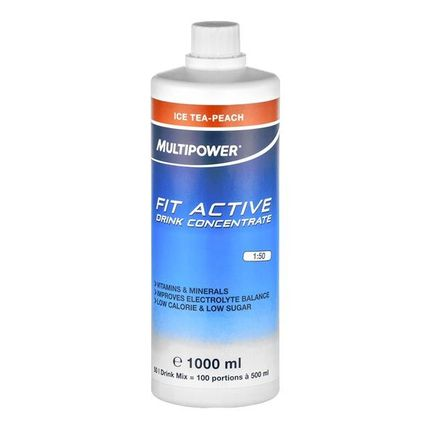 Multipower Fit Active Iced Tea Peach Concentrate