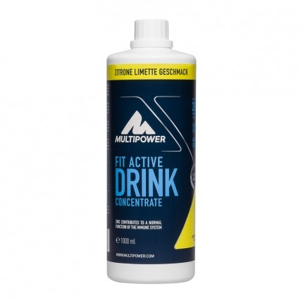 Multipower Fit Active Lemon Lime Concentrate