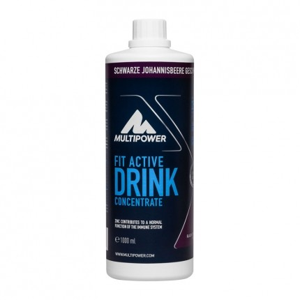 Multipower Fit Active Redcurrant, Koncentrat