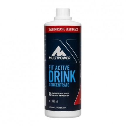 Multipower Fit Active Sour Cherry Concentrate