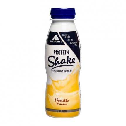 3 x Multipower Fitness Shake Vanilla