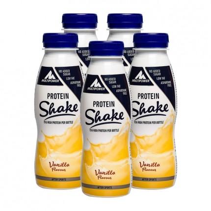 5 x Multipower Fitness Shake Vanilla