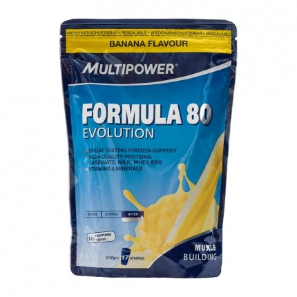 Multipower Formula 80 Evolution, Banane, Pulver