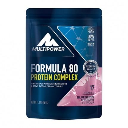 Multipower Formula 80 Evolution Blåbär-Yoghurt, Pulver