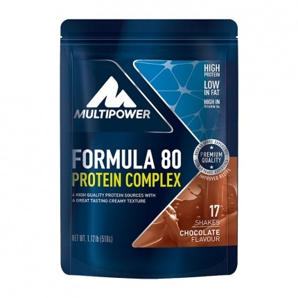 Multipower Formula 80 Evolution Chocolate Powder