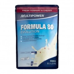 Multipower Formula 80 Evolution Fresh Yoghurt & Cherry Powder