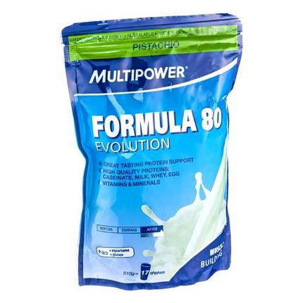 Multipower Formula 80 Evolution Pistachio Powder