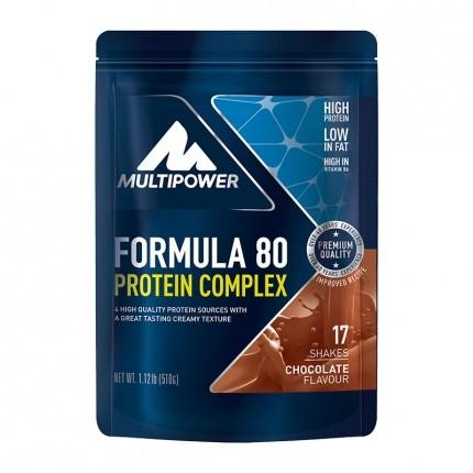 Multipower Formula 80 Evolution, Schokolade, Pu...
