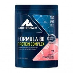 Multipower Formula 80 Evolution Strawberry Powder