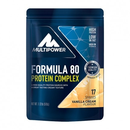 Multipower Formula 80 Evolution Vanilla Powder