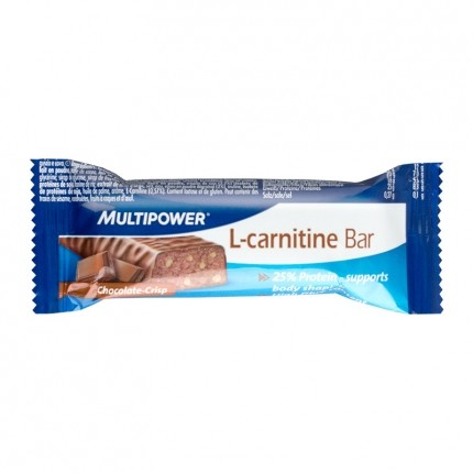 Multipower L-Carnitin Bar Chocolate Crisp
