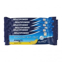 6 x Multipower Multicarbo Bar Banane