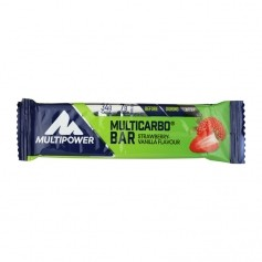 Multipower Multicarbo Bar Strawberry Vanilla
