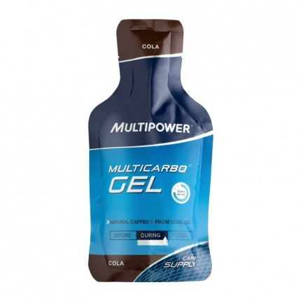 Multipower Multicarbo Gel, Cola