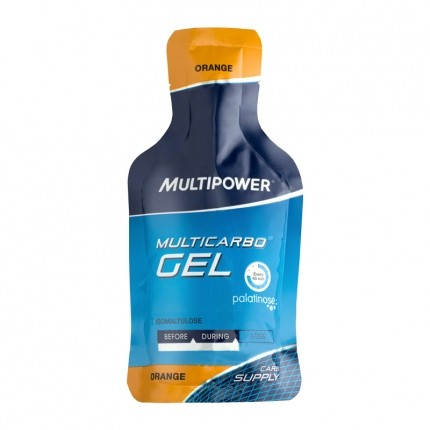 Multipower Multicarbo Gel, Orange
